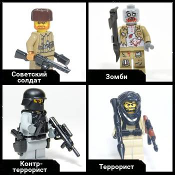 Custom minifigures