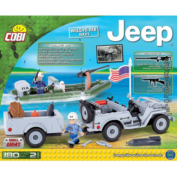 24193 US Jeep Willys MB Navy