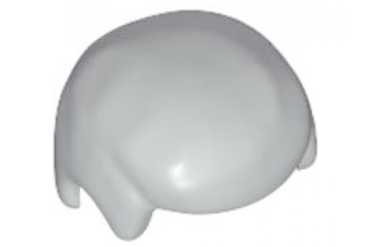 Light Bluish Gray Minifigure, Hair Male