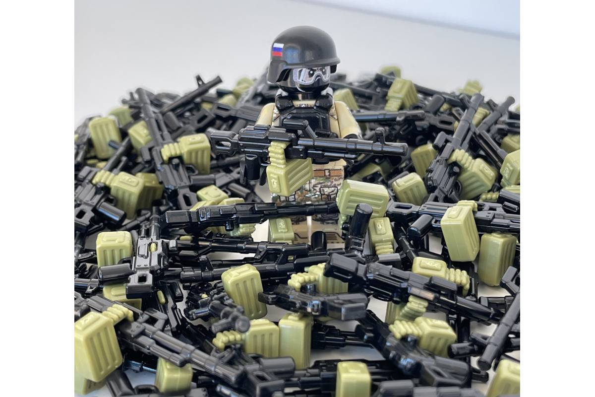 PKM w/Ammo Can Black & Olive