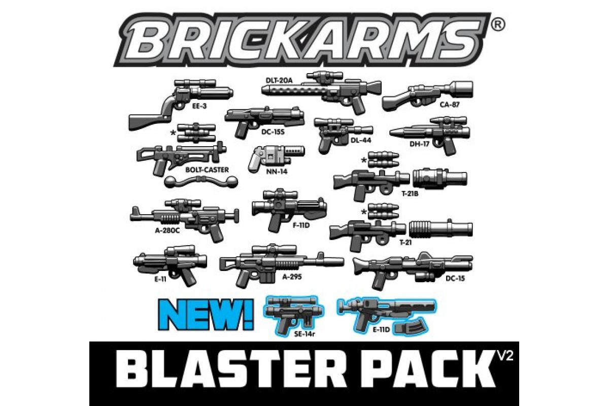 Blaster Weapons Pack v2