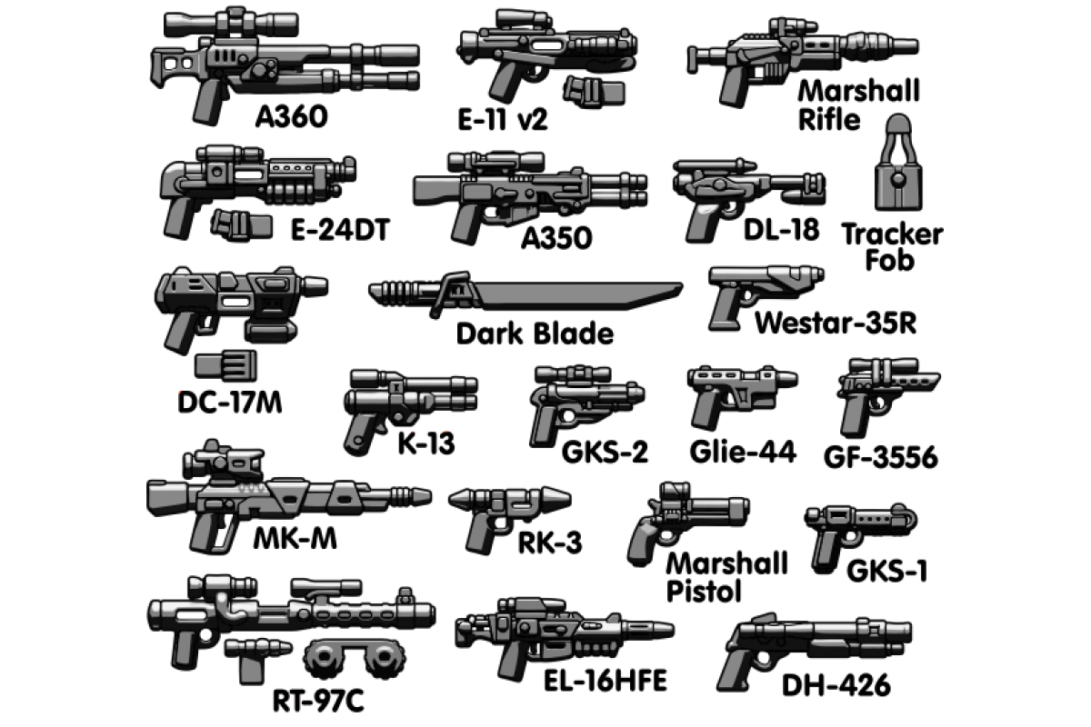 Brickarms Blaster Pack - Nova