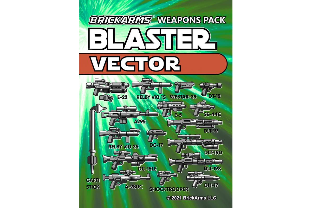 Brickarms Blaster Pack - Vector