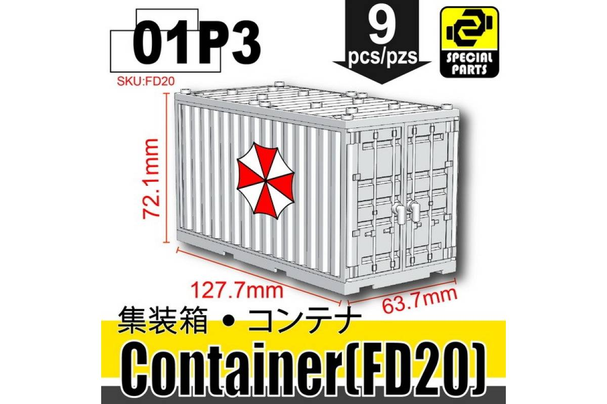 Container (FD20)-01P03 White