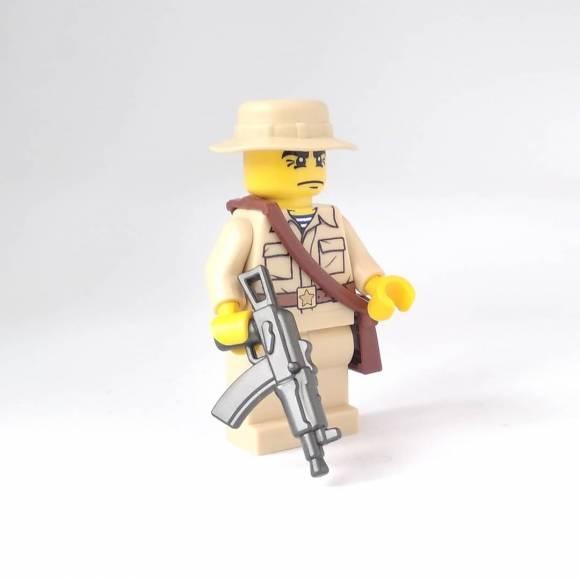 Soviet soldier in Afghanistan tan