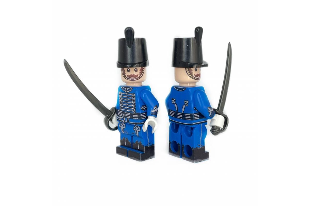 Russian Hussar Blue minifigure