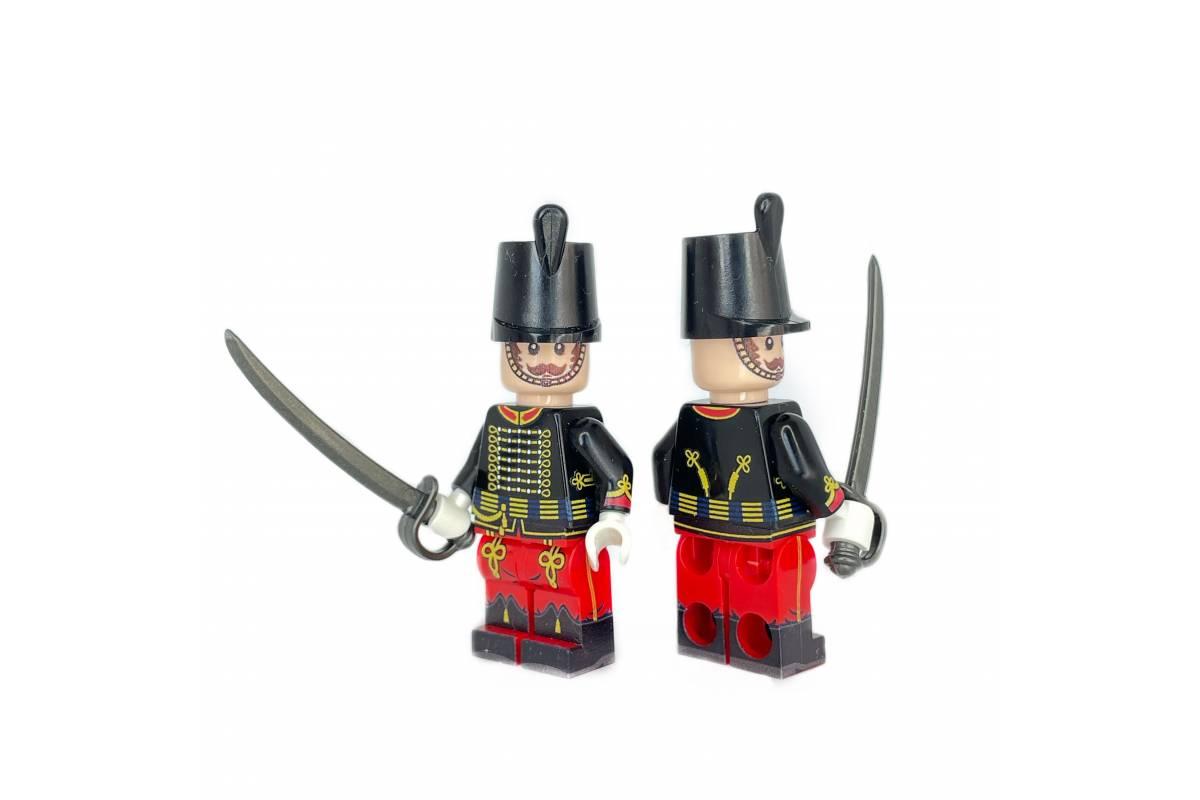 Russian Hussar Red-Black minifigure