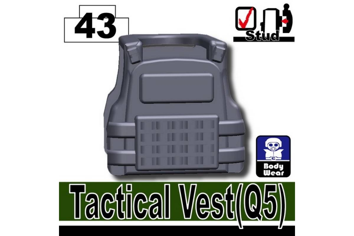Tactical Vest Q5 Dark Blue Gray