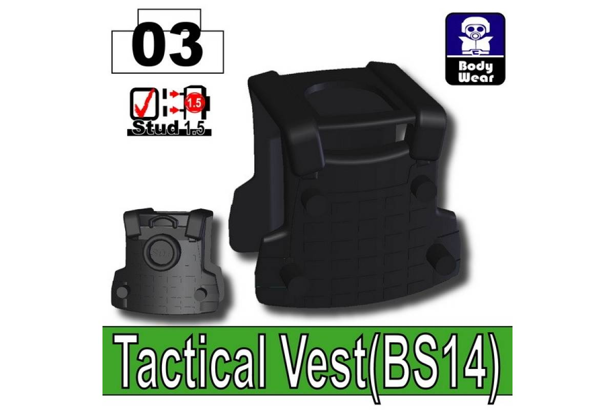 Tactical Vest(BS14) Black