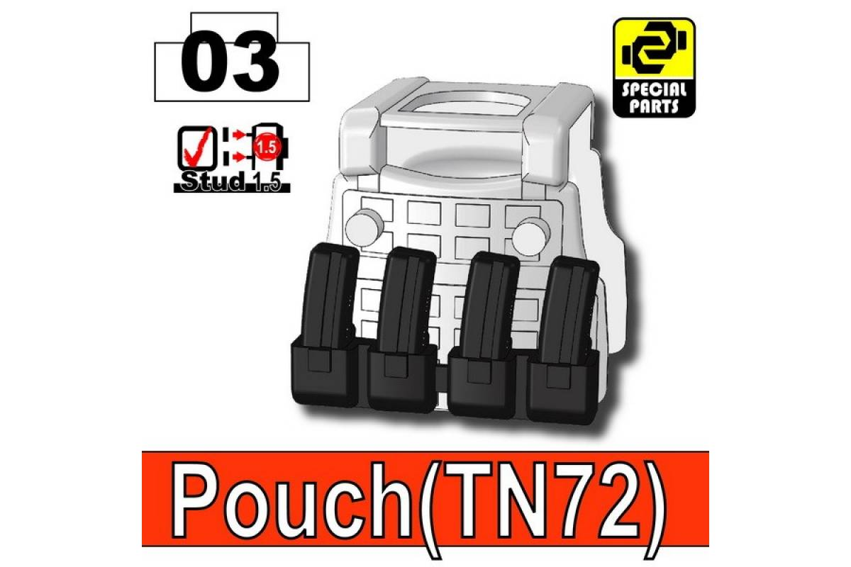 Pouch(TN72) Black