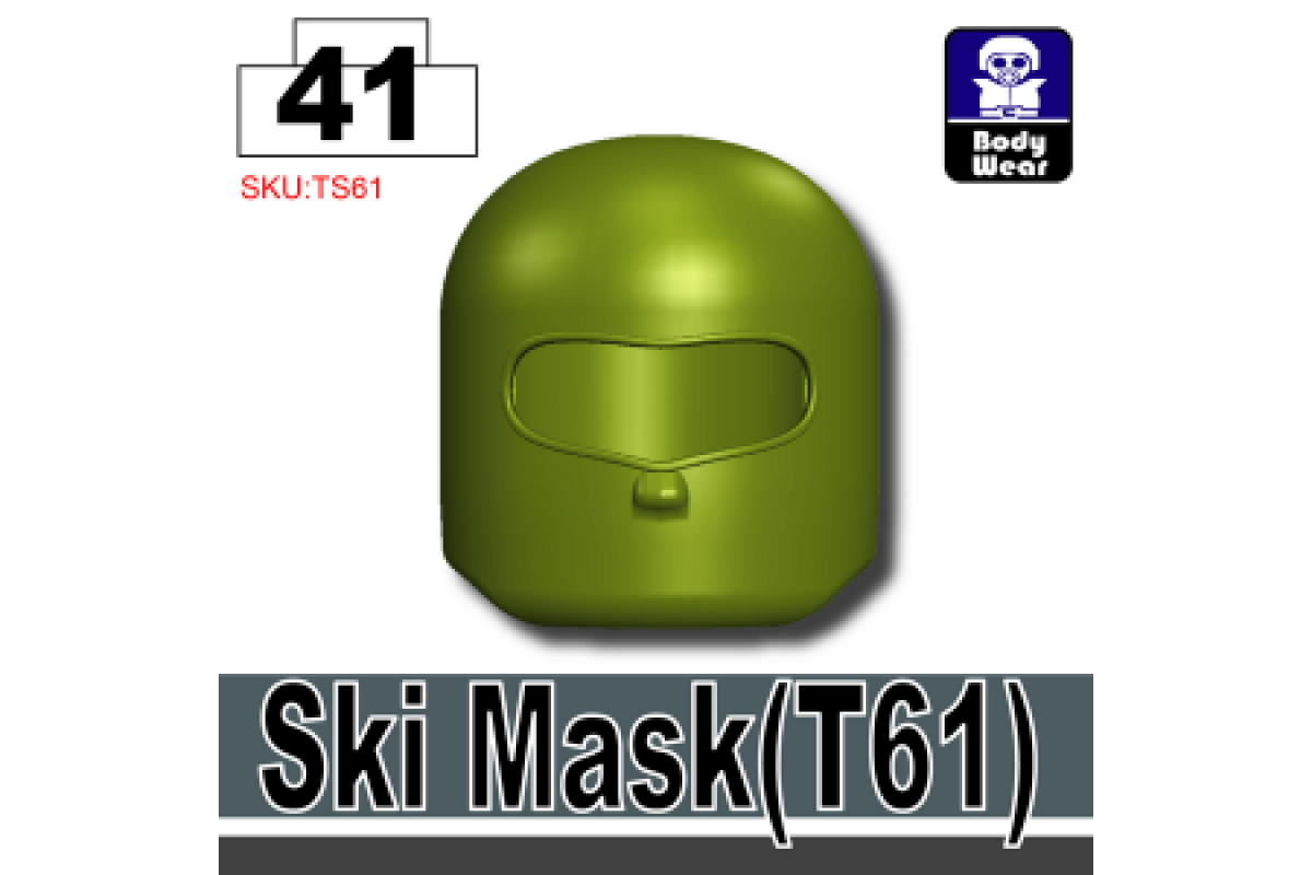 Ski Mask T61 Tank Green