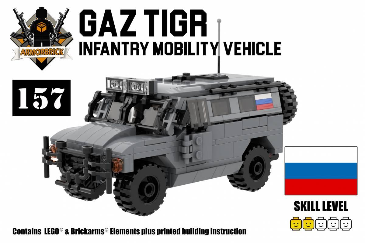GAZ Tiger - Modern Armored Carrier