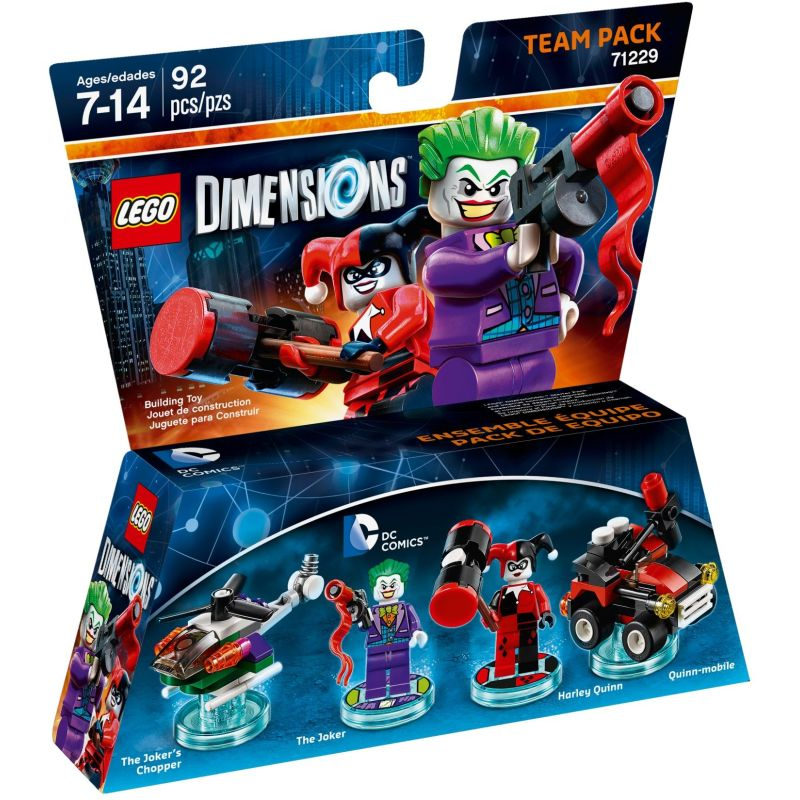 71229 Тим пак: Джокер и Харли Квин