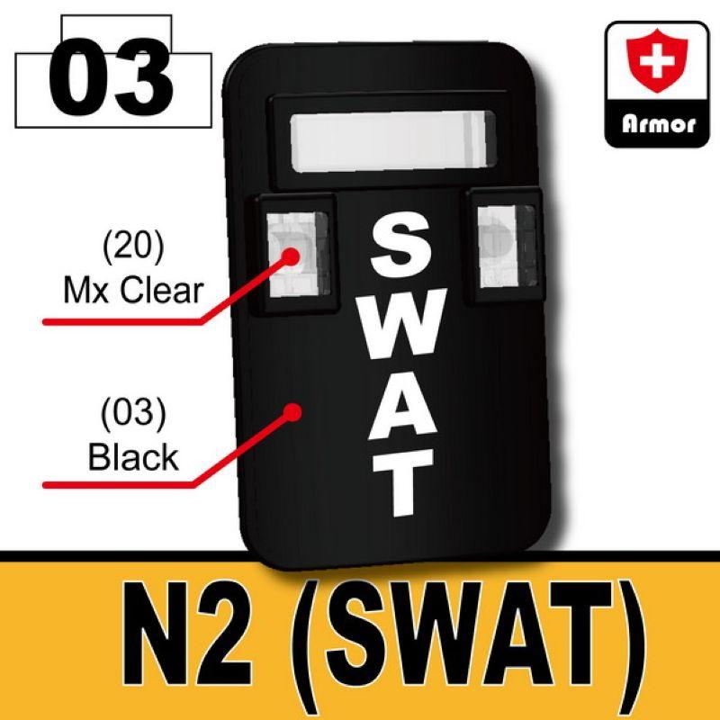 Bulletproof shield N2 SWAT