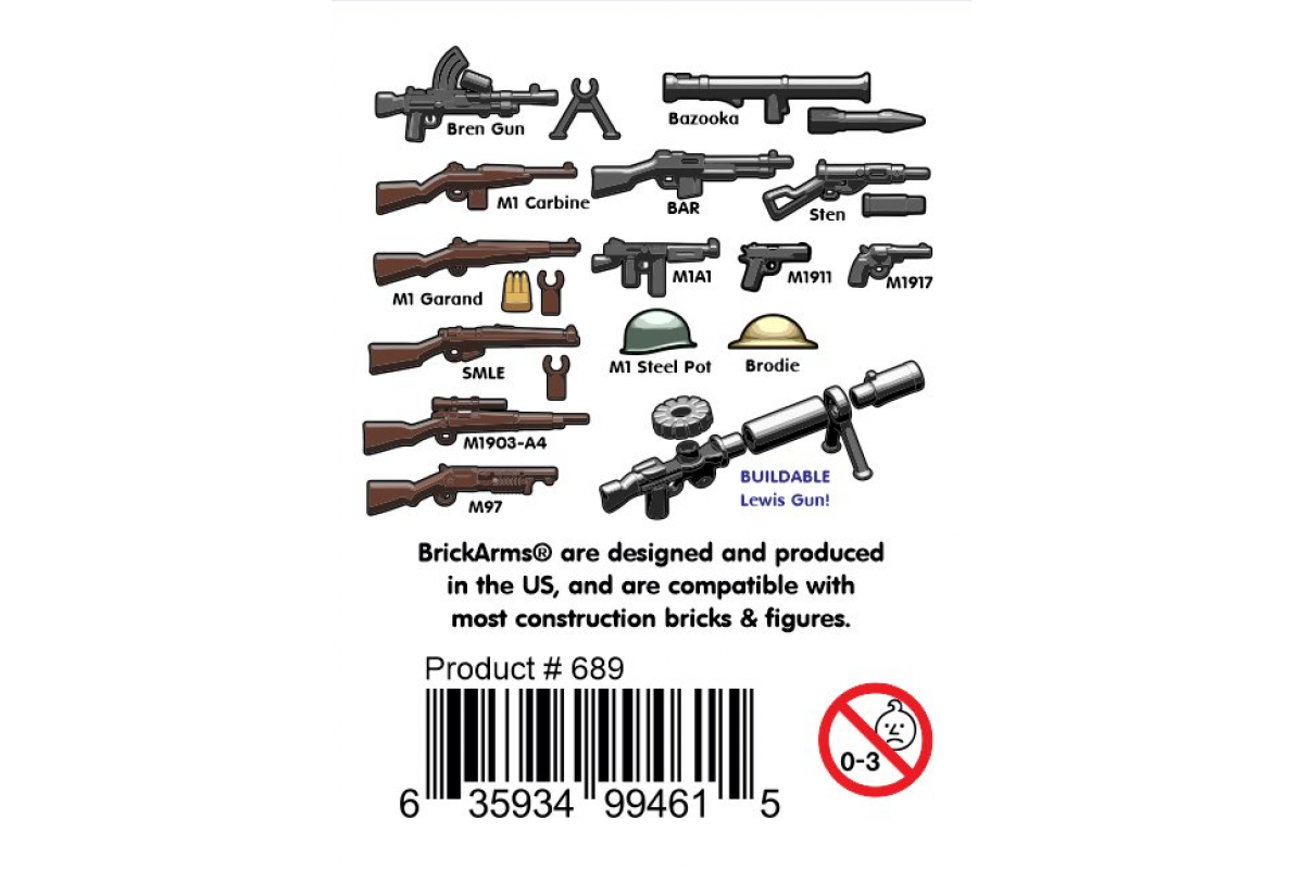 3х WWII weapons packs in 1