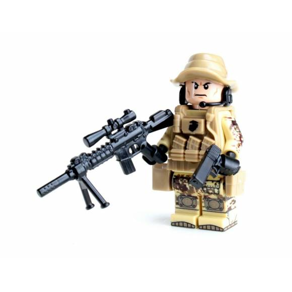 Force Recon Special Forces Marine Sniper Minifigure