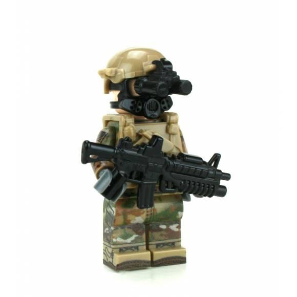 Army OCP Chemical Warfare Minifigure