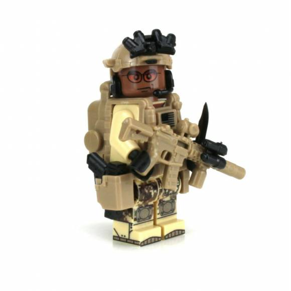 African American Special Forces Soldier