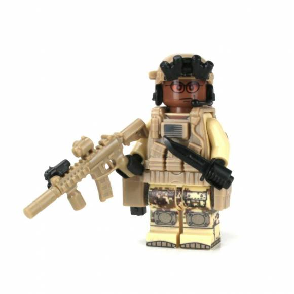 Афро-американский солдат Спецназа