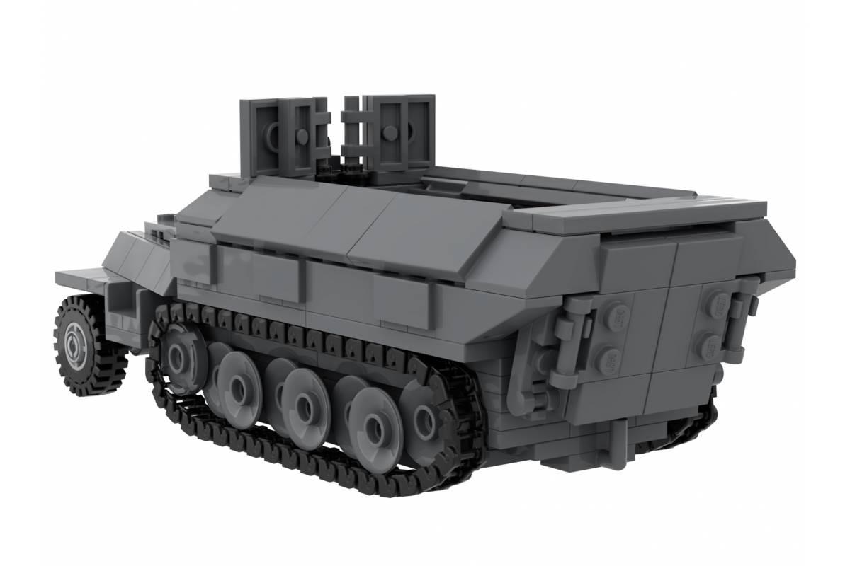 SdKfz 251 - WWII German Armored Vehicle