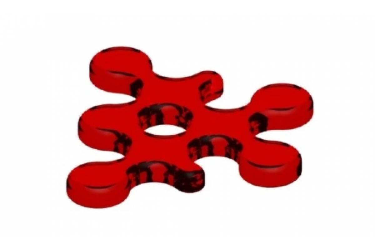 Spill/Splat red