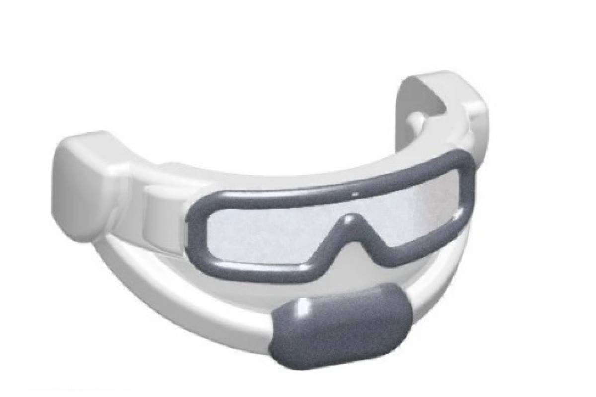 Tactical Goggles - Trans Clear (White/Steel)