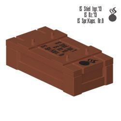 Crate - Medium Dark Flesh (1AEGA)
