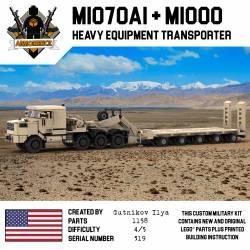 Транспортер тяжелой техники M1070A+M1000