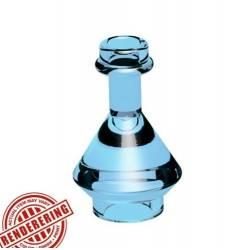 Flask Trans Medium Blue