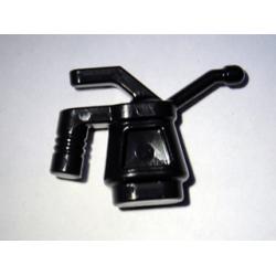 Канистра с машинным маслом черная