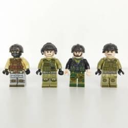 Special forces squad Olive Green (Brickpanda)