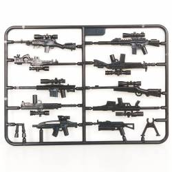 Modern weapons pack - 7 Brickpanda