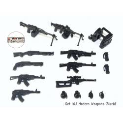 Modern weapons pack 16.1 Rusarms black