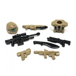 Desert USNC  - набор оружия БрикФорж