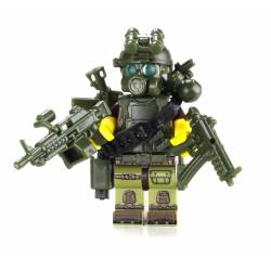 Special Forces Green Commando Minifigure