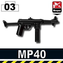 MP40 с прикладом черная