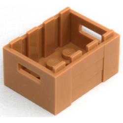 Контейнер шоколадного цвета