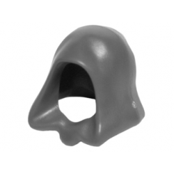 Dark Bluish Gray Minifigure, Headgear Hood