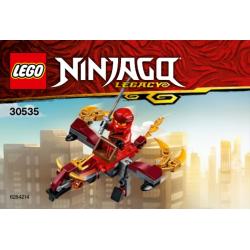 30535 Fire Dragon polybag