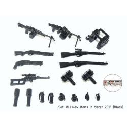 Weapons pack 18.1 Rusarms black