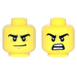Двойное лицо (ухмылка/ожесточение)
