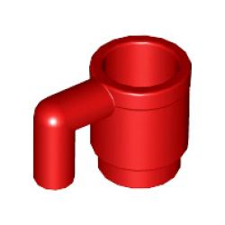 Кружка красная