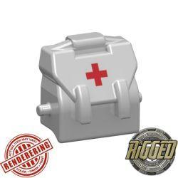 Haversack Medic white