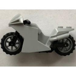 Мотоцикл светло-серый