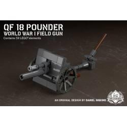 Британская полевая пушка QF18 Первой Мировой