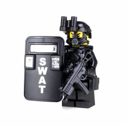 Swat Police Officer Pointman Minifigure