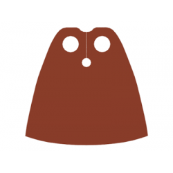 Cape Cloth, Standard - Traditional Starched Fabric - Reddish Brown