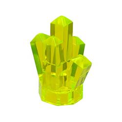 Кристалл прозрачный неон