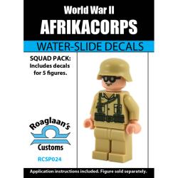 """Наклейки """"Камуфляж Африканского корпуса Вермахта"""""""