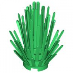 Кустарник зеленый